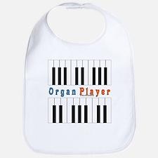 Organ Player Jam Shirt Bib