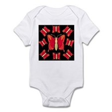 Red Dragon Swallowtails Infant Creeper