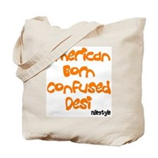 American Born Confused Desi Tote Bag
