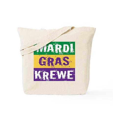 Grunge Mardi Gras Krewe Tote Bag