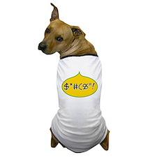 Colorful Language Dog T-Shirt