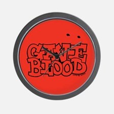 Gave Blood Wall Clock