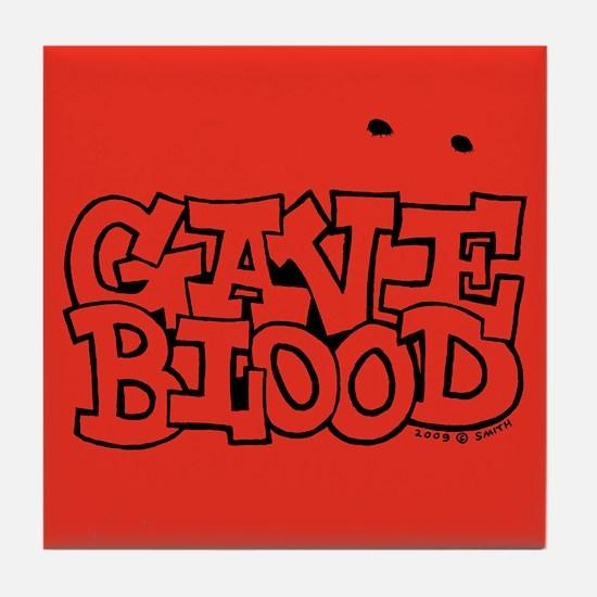 Gave Blood Tile Coaster