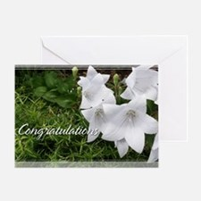 Balloon Flower Congratulations Card 5x7