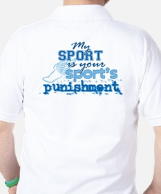 Sport Punishment blue T-Shirt