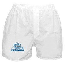 Sport Punishment blue Boxer Shorts