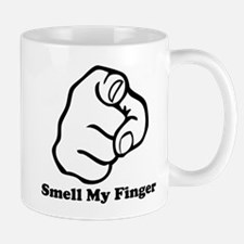 Smell My Finger Small Small Mug