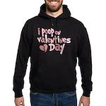 I Poop On Valentine's Day Hoodie (dark)