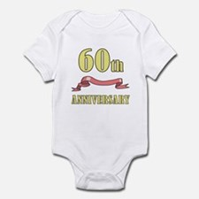 60th Wedding Anniversary Infant Bodysuit
