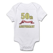 50th Wedding Anniversary Infant Bodysuit