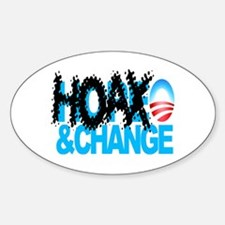 Extreme Anti Obama Oval Decal