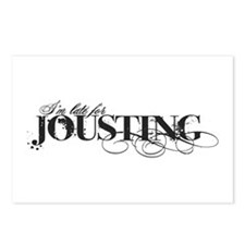 L8 for Jousting Postcards (Package of 8)