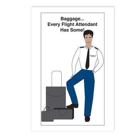 BR Baggage Man Postcards (Package of 8)