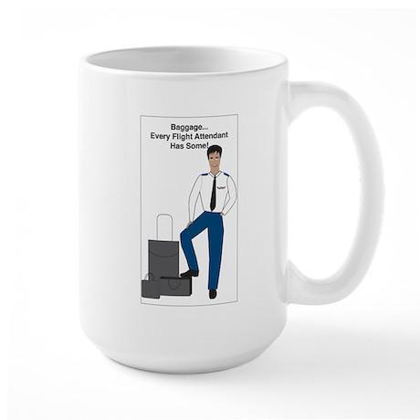BR Baggage Man Large Mug