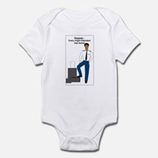 AA Baggage Man Infant Bodysuit