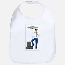 AA Baggage Man Bib