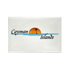 Cayman Islands Sunset Rectangle Magnet