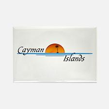 Cayman Islands Sunset Rectangle Magnet