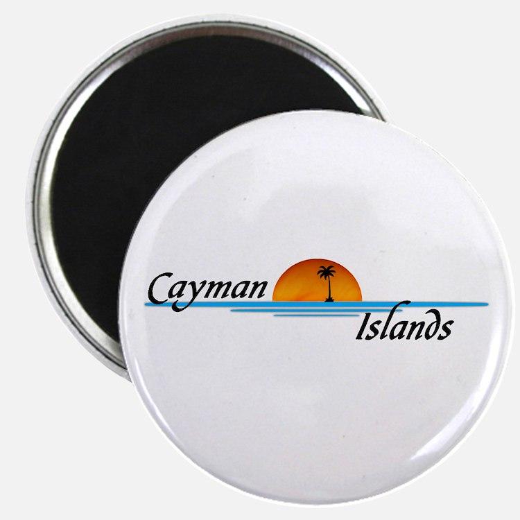 Cayman Islands Sunset Magnet
