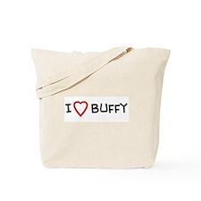 I Love Buffy Tote Bag