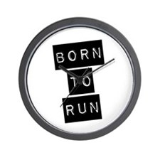 Born to run (imp) Wall Clock