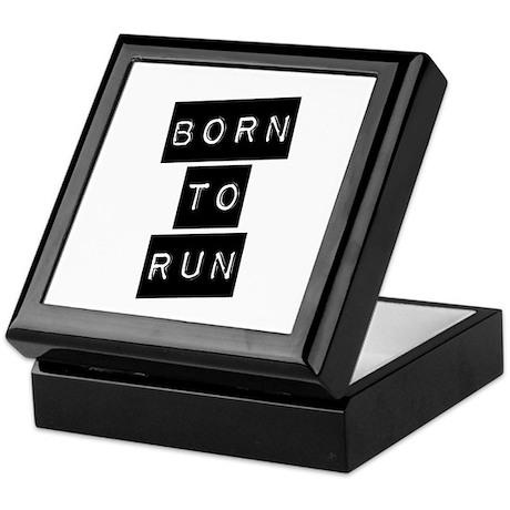 Born to run (imp) Keepsake Box