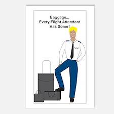 Baggage Men Postcards (Package of 8)