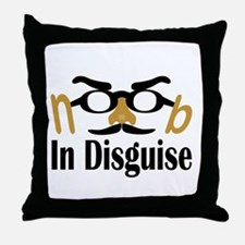 Noob in Disguise Throw Pillow