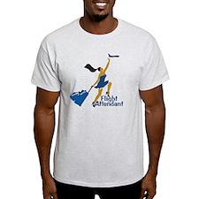 AA Catching Her Flight FA T-Shirt