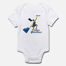 AA Catching Her Flight FA Infant Bodysuit