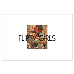 Flirty Girls Posters