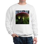 Red Mushroom in Forest Sweatshirt