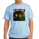 Red Mushroom in Forest Light T-Shirt