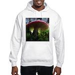 Red Mushroom in Forest Hooded Sweatshirt