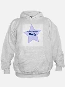 Home Schoolers Rock Hoodie