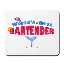 World's Best Bartender Mousepad