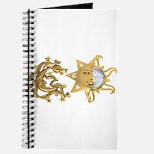 Sun Moon Sparkle Journal