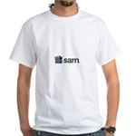 SAM White T-Shirt