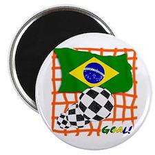 Goal Brazil! Magnet