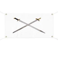 Swords Crossed Banner