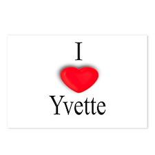 Yvette Postcards (Package of 8)
