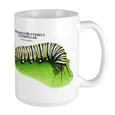 Monarch Butterfly Caterpillar Mug
