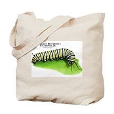 Monarch Butterfly Caterpillar Tote Bag