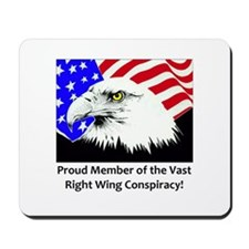 Right Wing Mousepad