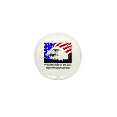 Right Wing Mini Button (100 pack)