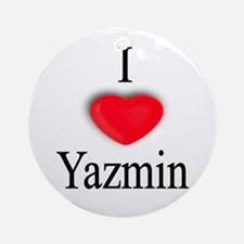 Yazmin Ornament (Round)