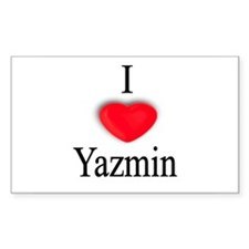 Yazmin Rectangle Decal