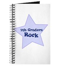 7th Graders Rock Journal