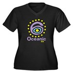 Oceanic 6 Women's Plus Size V-Neck Dark T-Shirt