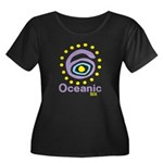 Oceanic 6 Women's Plus Size Scoop Neck Dark T-Shir